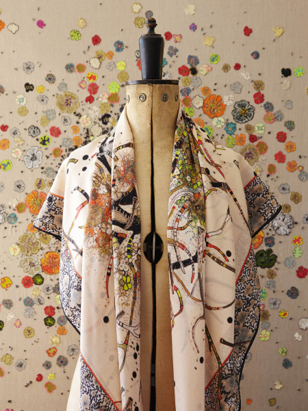 Lou Gardiner Embroidery - Scarves